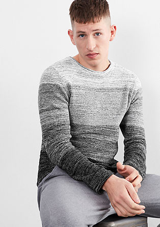 Graduated colour knit jumper from s.Oliver