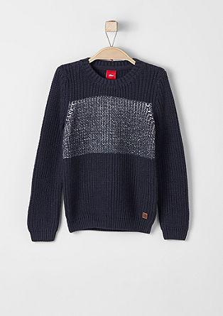 Grobo pleten pulover