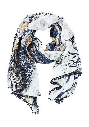 Großer Schal mit Ethno-Muster