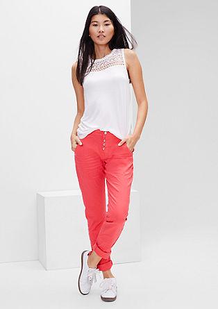 Gwen Boyfriend: barvne jeans hlače