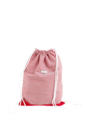 Gym bag with stripes from s.Oliver