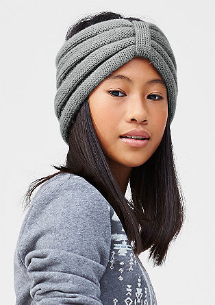 Haarband van warm breisel