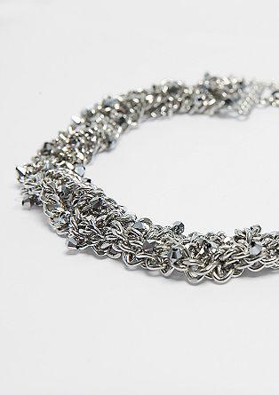 Halskette in Flecht-Optik