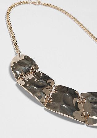 Halskette in Sichelform
