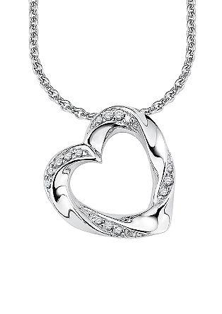 Halskette mit Herz-Anhänger