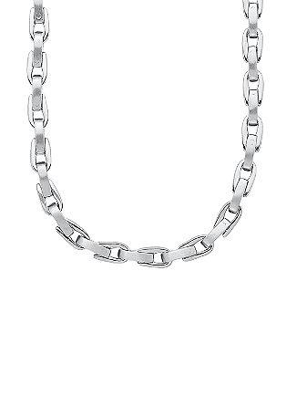 Halskette mit Matt-/Glanz-Effekten