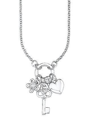 Halskette mit Schlüssel-Anhänger