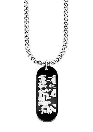 Halskette mit Skateboard-Anhänger