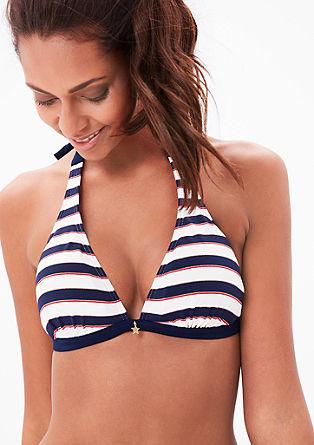 Halter neck bikini top from s.Oliver