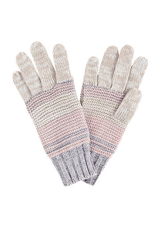 Handschuhe in Pastelltönen