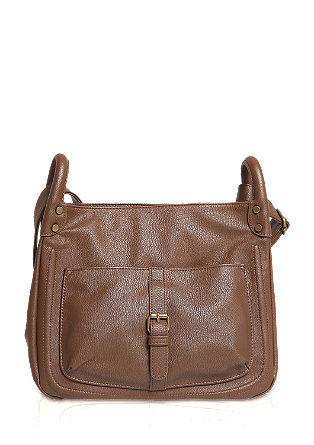 Handtasche mit Frontfach