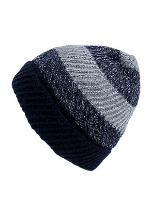 Hat in a striped design from s.Oliver