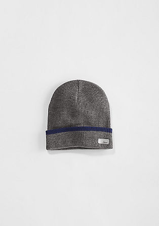 Hat with a reflective patch from s.Oliver
