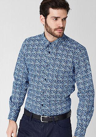 Hemd mit Blümchen-Muster