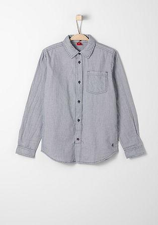 Hemd mit feinem Karomuster