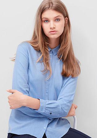 Hemdbluse aus Twill