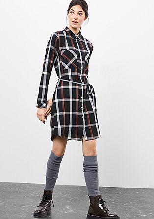 Hemdkleid im Karo-Design