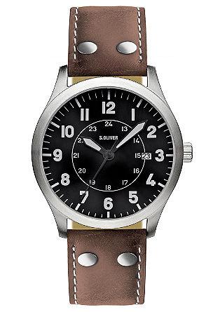 Herenhorloge met een opvallend design