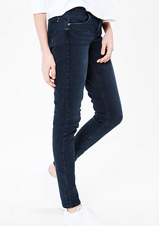 High Rise Skinny: Colored Denim
