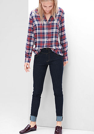 High Rise Skinny: jeans hlače z visokim pasom