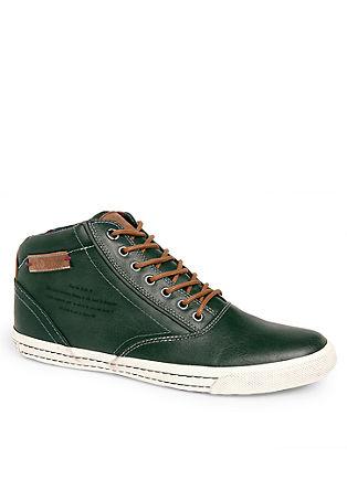 High-Sneaker im Vintage-Look