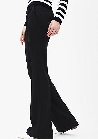 High waist broek met coupenaden