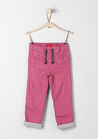 Hlače chino: Podložene bombažne hlače