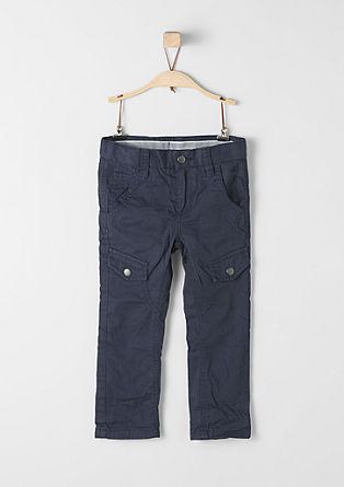 Hlače chino: Podložene hlače iz blaga