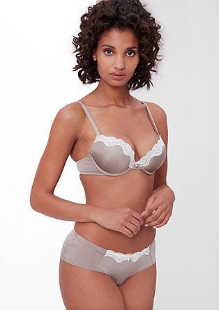 Hlačke panty dvobarvnega videza