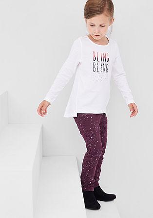 Hlačne pajkice: Jeans hlače z zvezdicami