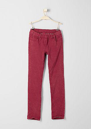 Hlačne pajkice: obarvane športne hlače
