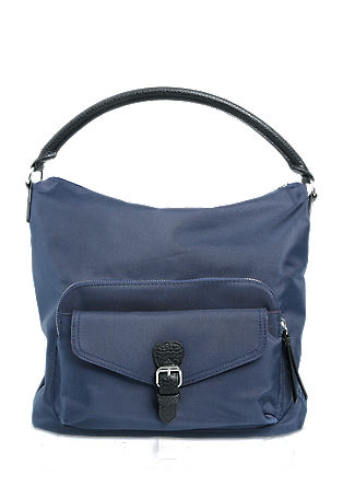Hobo Bag in Nylon-Optik