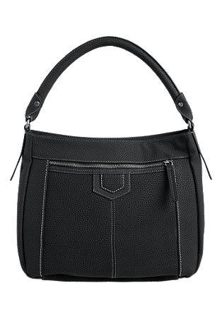 Hobo Bag mit Struktur-Effekt