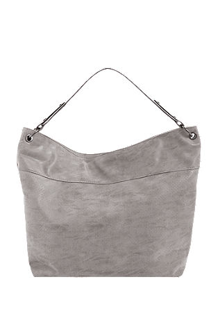 Hobo bag with embossed pattern from s.Oliver