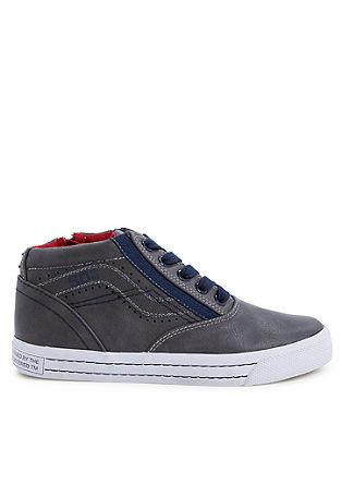 Hoge sneakers met een vintage look
