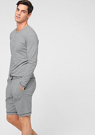 Homewear-Shorts aus Jersey