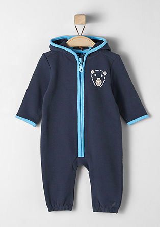 Hooded romper suit from s.Oliver