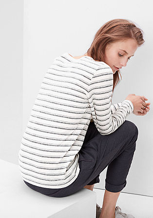 Hooped long sleeve T-shirt from s.Oliver