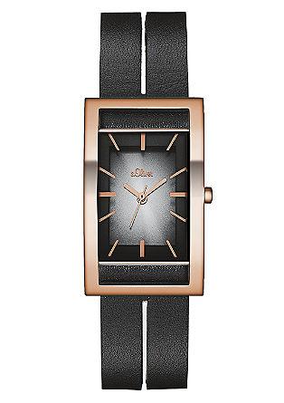 Horloge met een futuristisch design en IP rose