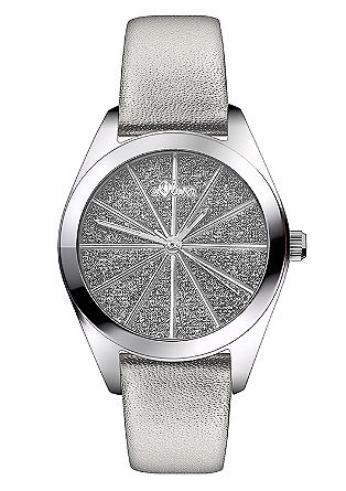 Horloge met een glinsterend effect