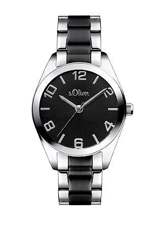 Horloge met IP black coating