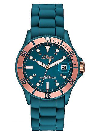 Horloge met siliconen band