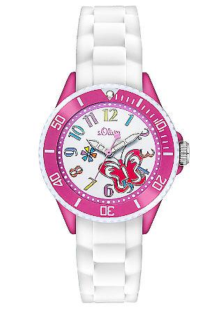 Horloge met siliconenband voor kids