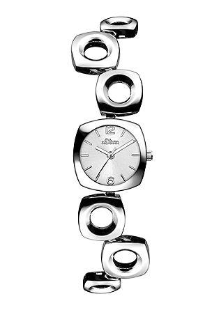 Horloge met verplaatste schakels