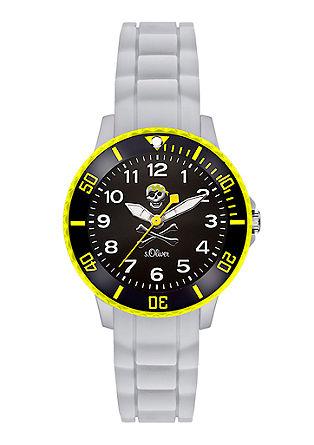Horloge voor kids met mooi gekleurd silicone bandje