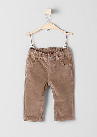 Hose aus Samtcord