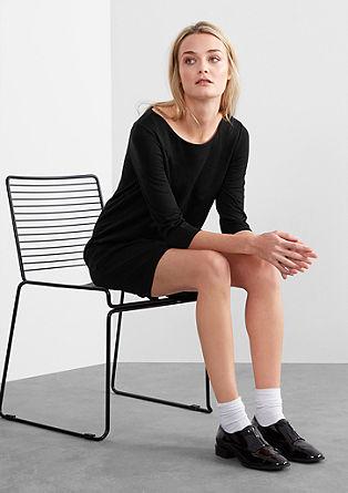 Interlock-Kleid im Retro-Style