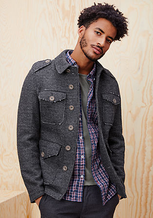 Italian wool jacket from s.Oliver