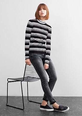 Izjemno ozke jeans hlače Superskinny: raztegljive jeans hlače