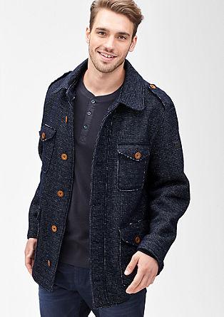 Jacke aus italienischer Wolle